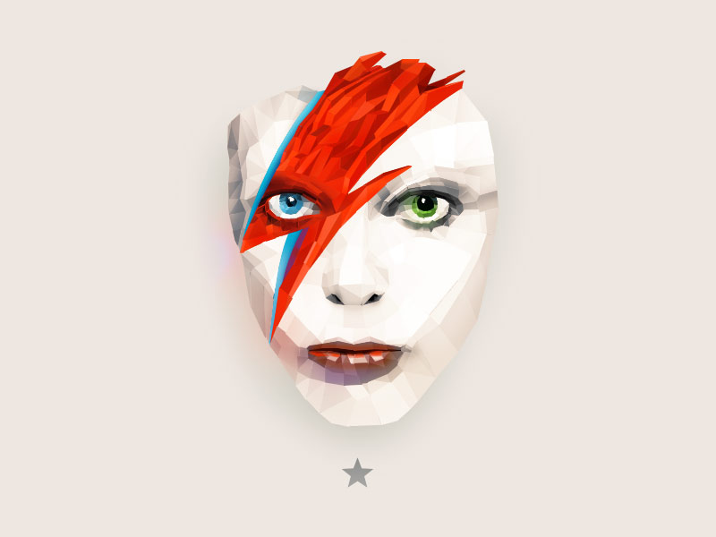 David Bowie design tribute