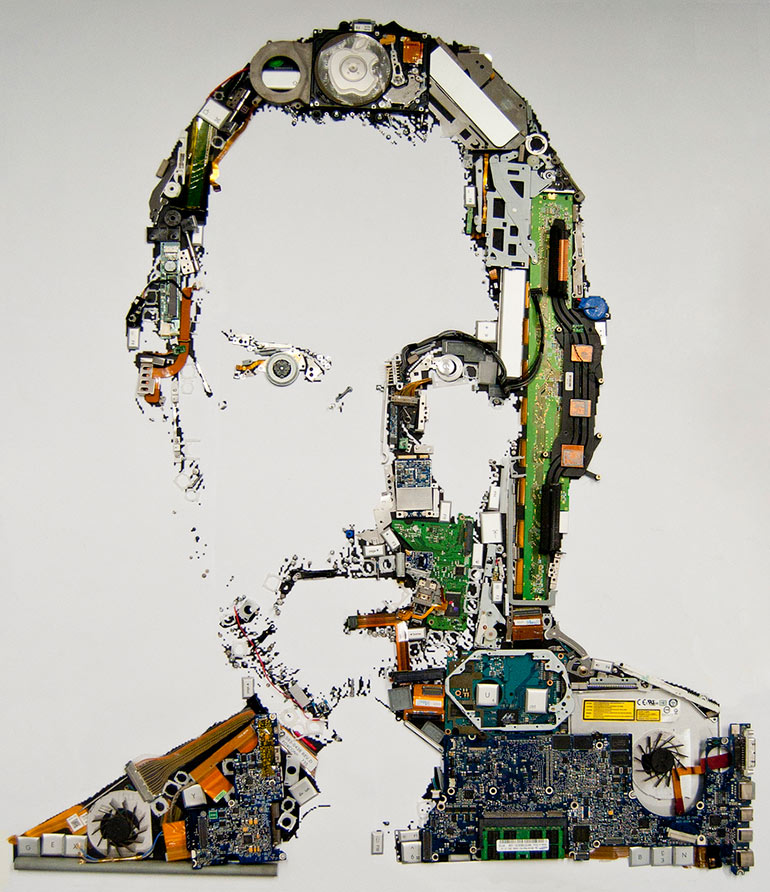 A tribute to Steve Jobs by Mint Foundry