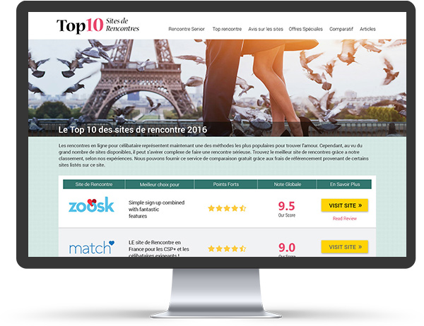 Top 10 site rencontre